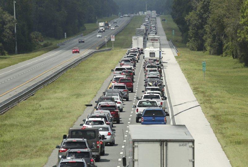 Hurricane Irma Evacuation Traffic