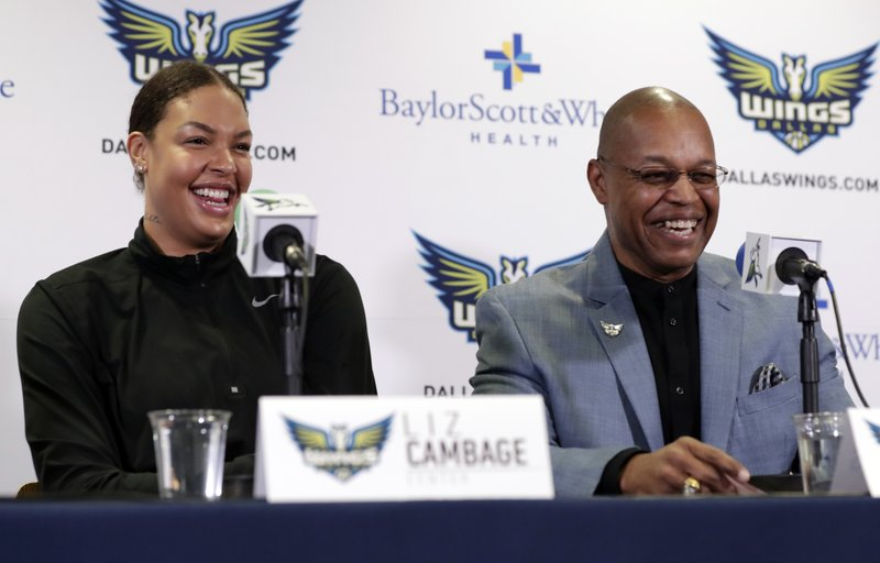 Fred Williams, Liz Cambage,