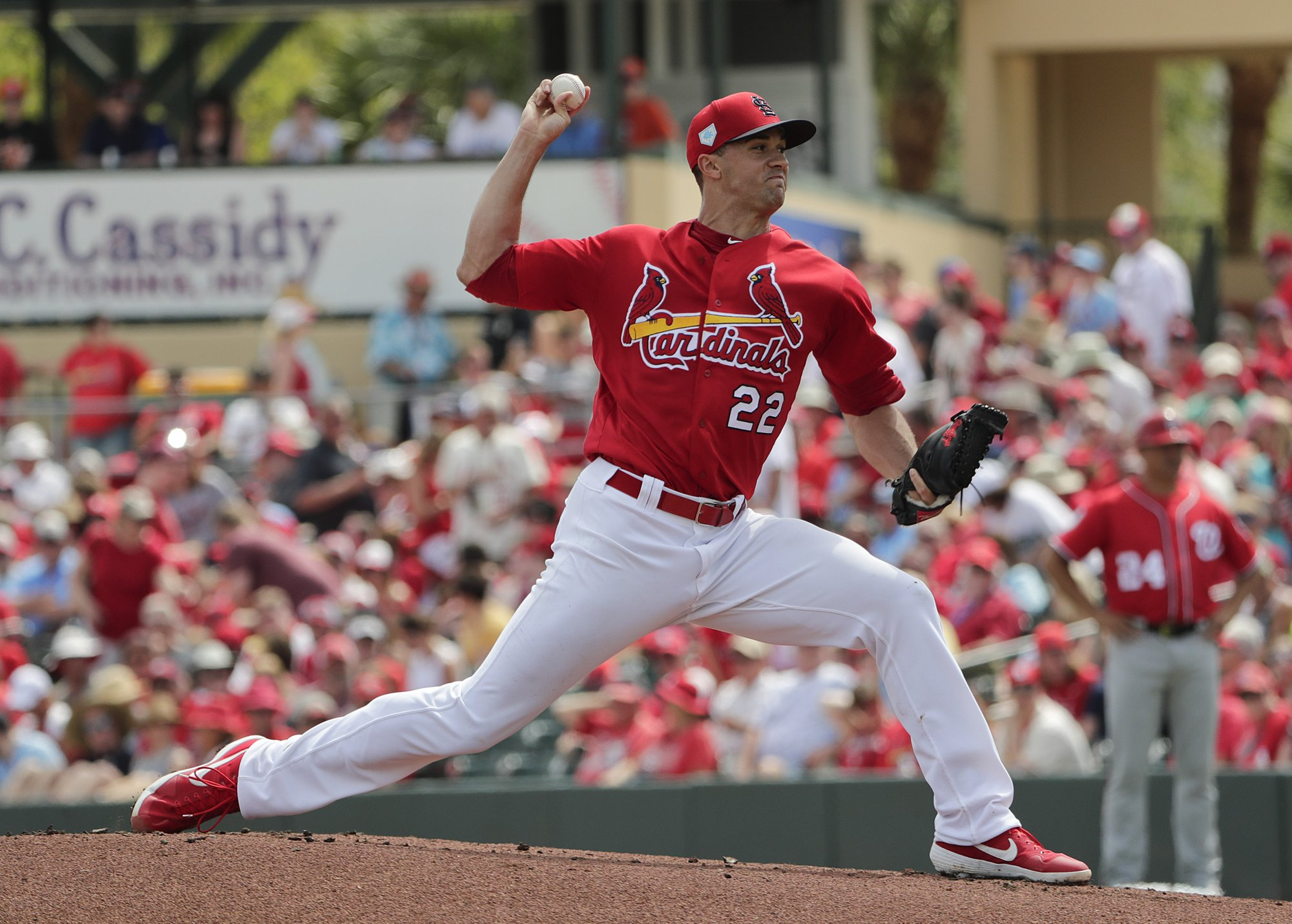 Fresh and ready, Cards' Flaherty builds off rookie season