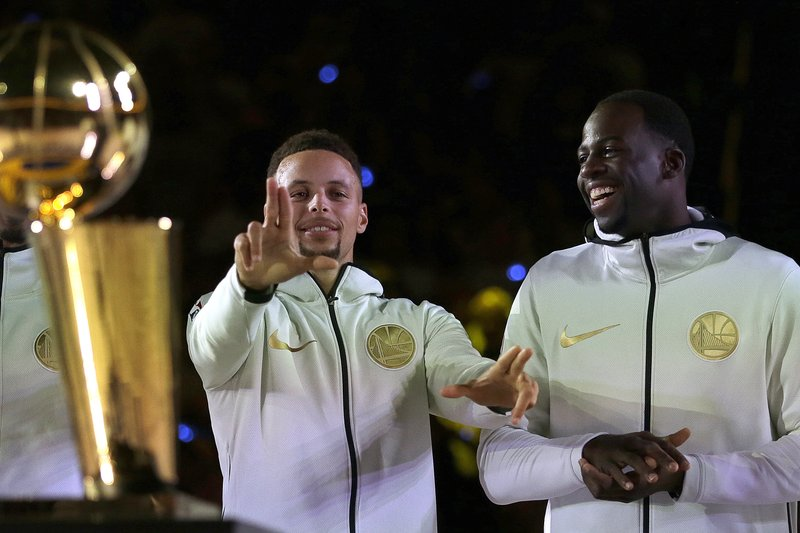 Stephen Curry, Draymond Green