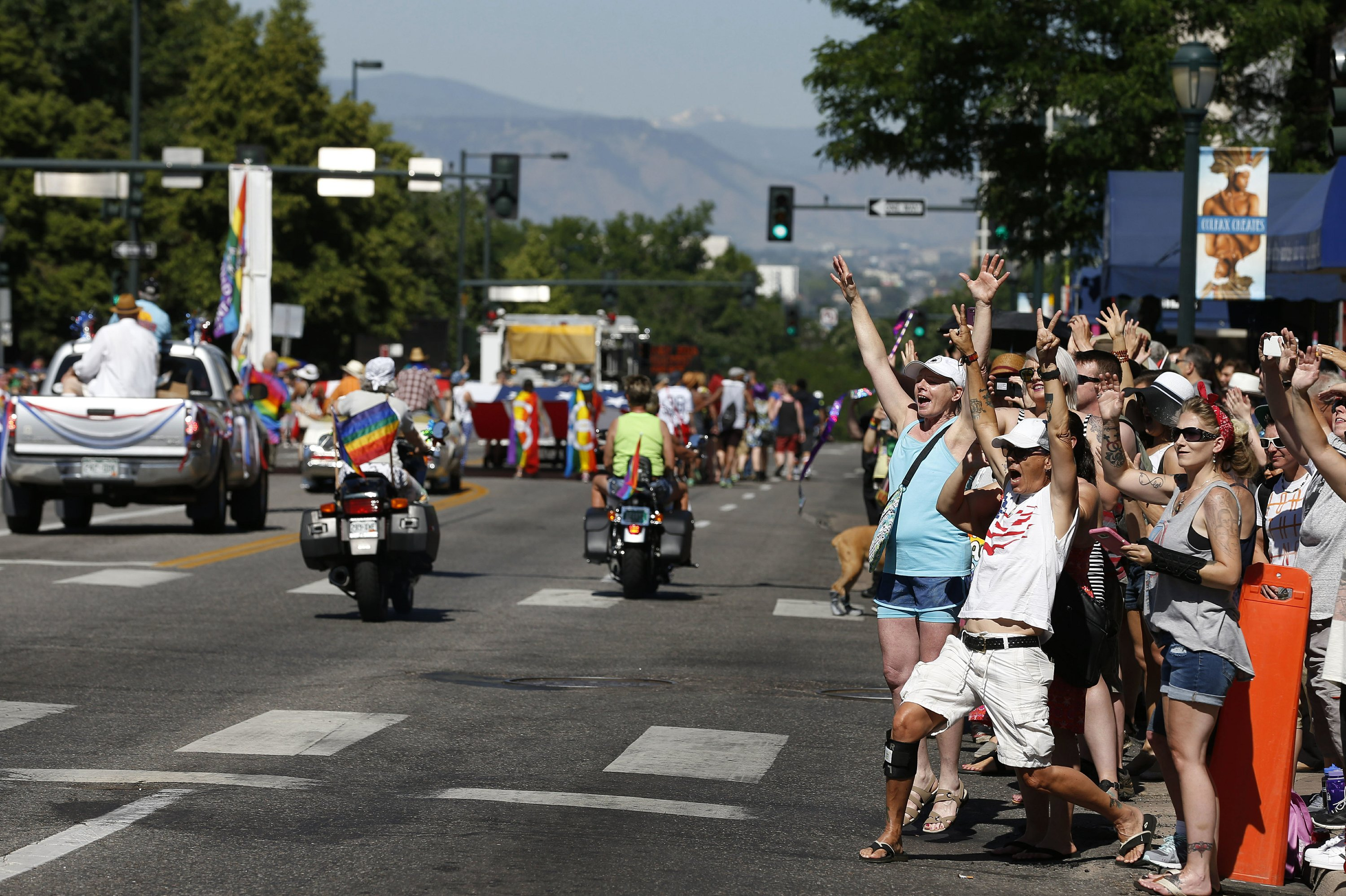 Thousands turn out for weekend gay pride events