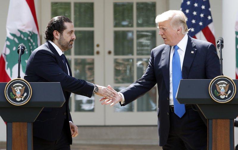 Donald Trump,Saad Hariri