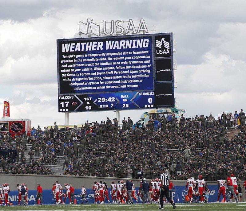 Stony Brook, weather delay, weather warning, stony brook players