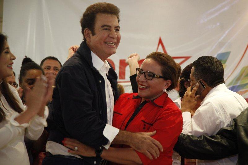 Salvador Nasralla, Xiomara Castro