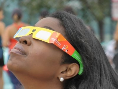 Americans Gather Across the Country for Eclipse