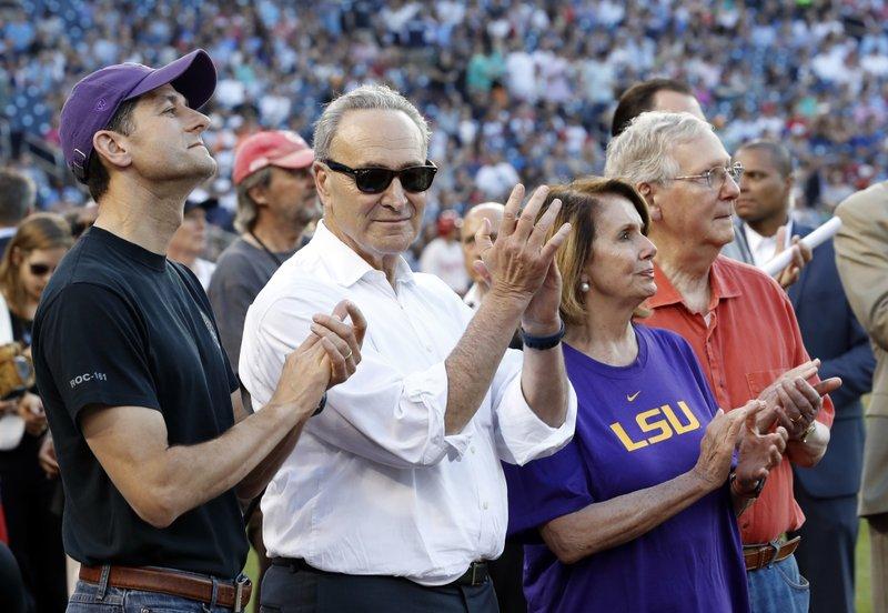 Paul Ryan, Chuck Schumer, Nancy Pelosi, Mitch McConnell