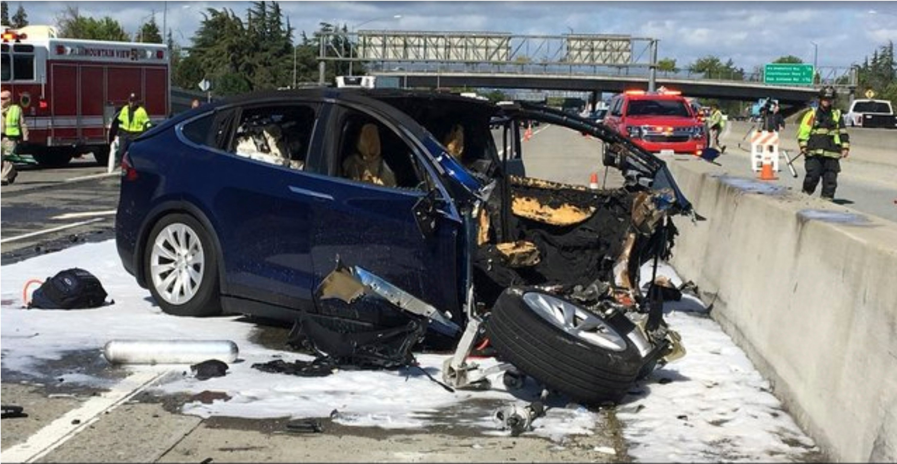 Tesla says vehicle in deadly crash was on Autopilot