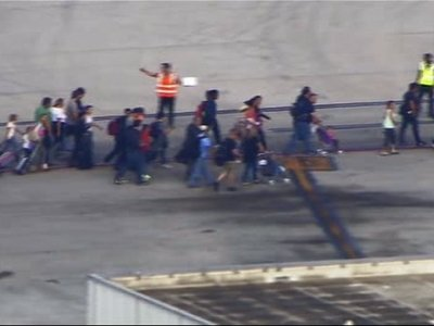 Raw: Reports Several People Shots at Fla Airport
