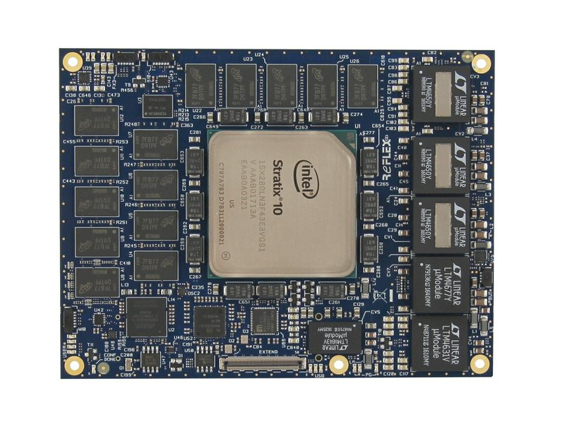 Stratix 10 SoC: REFLEX CES is Releasing to Market Its New Version of the COM Express Module Based on Stratix 10 SoC Technology from Intel PSG
