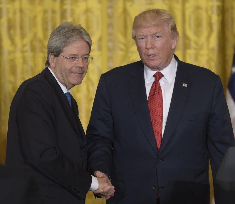Donald Trump, Paolo Gentiloni