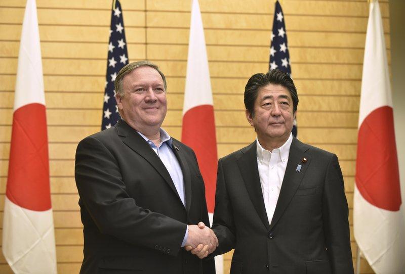 Shinzo Abe, Mike Pompeo