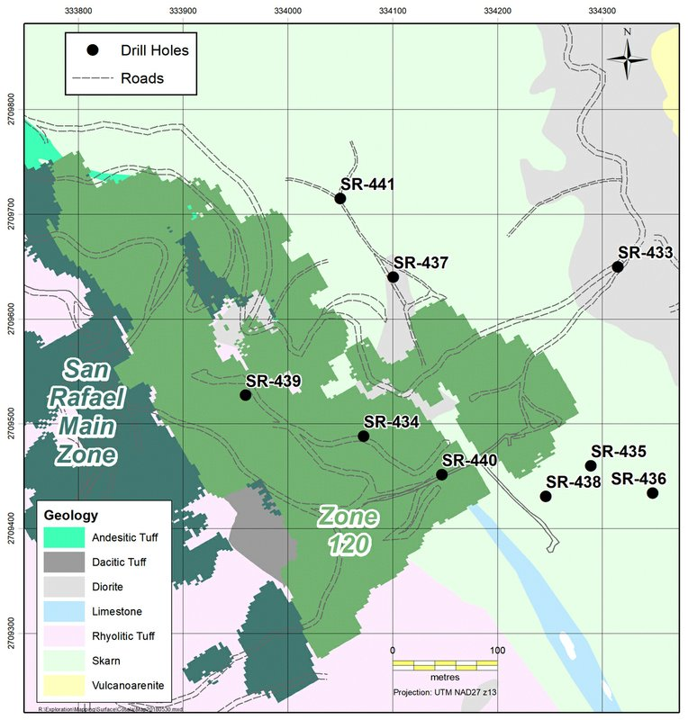 Americas Silver Corporation Provides an Exploration and San Rafael Update