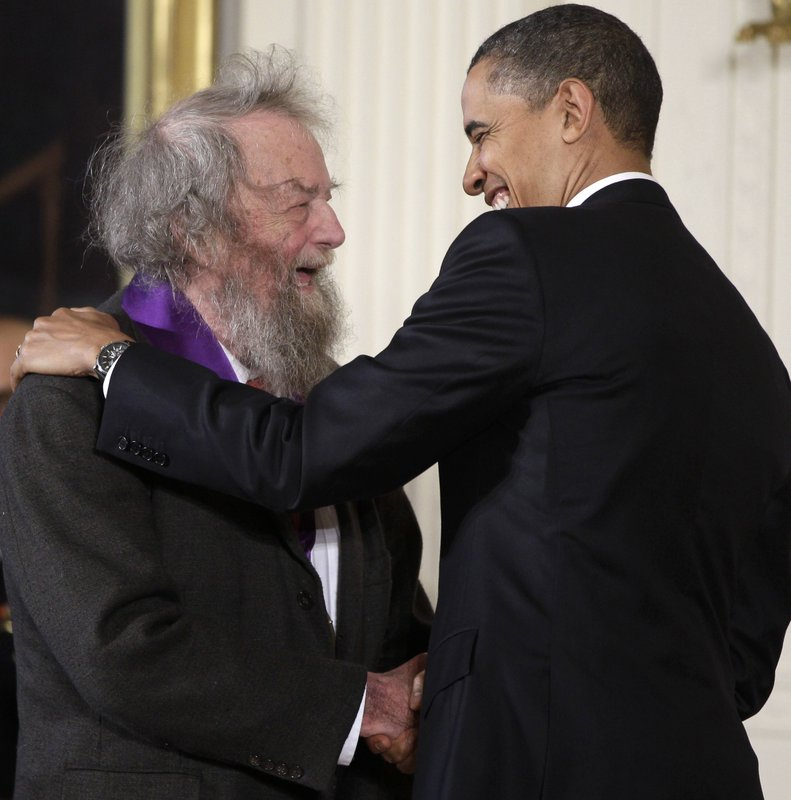 Former poet laureate Donald Hall dies at 89