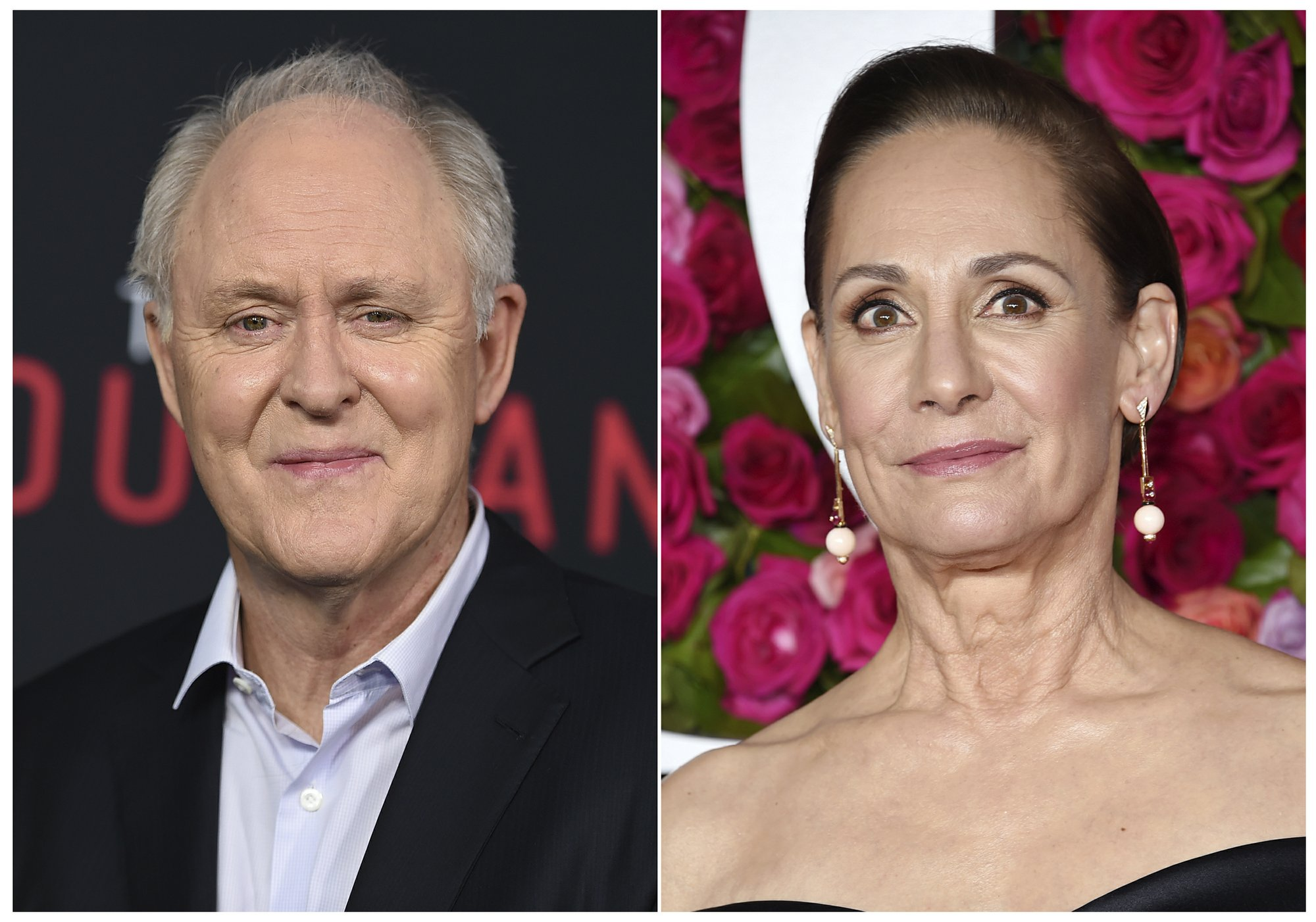 Laurie Metcalf, John Lithgow to play Bill, Hillary Clinton