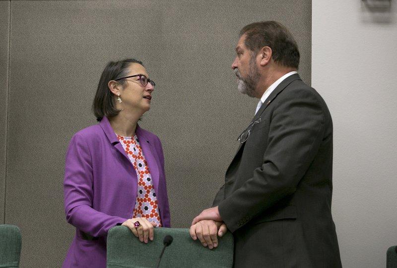 Laura Friedman, John Moorlach