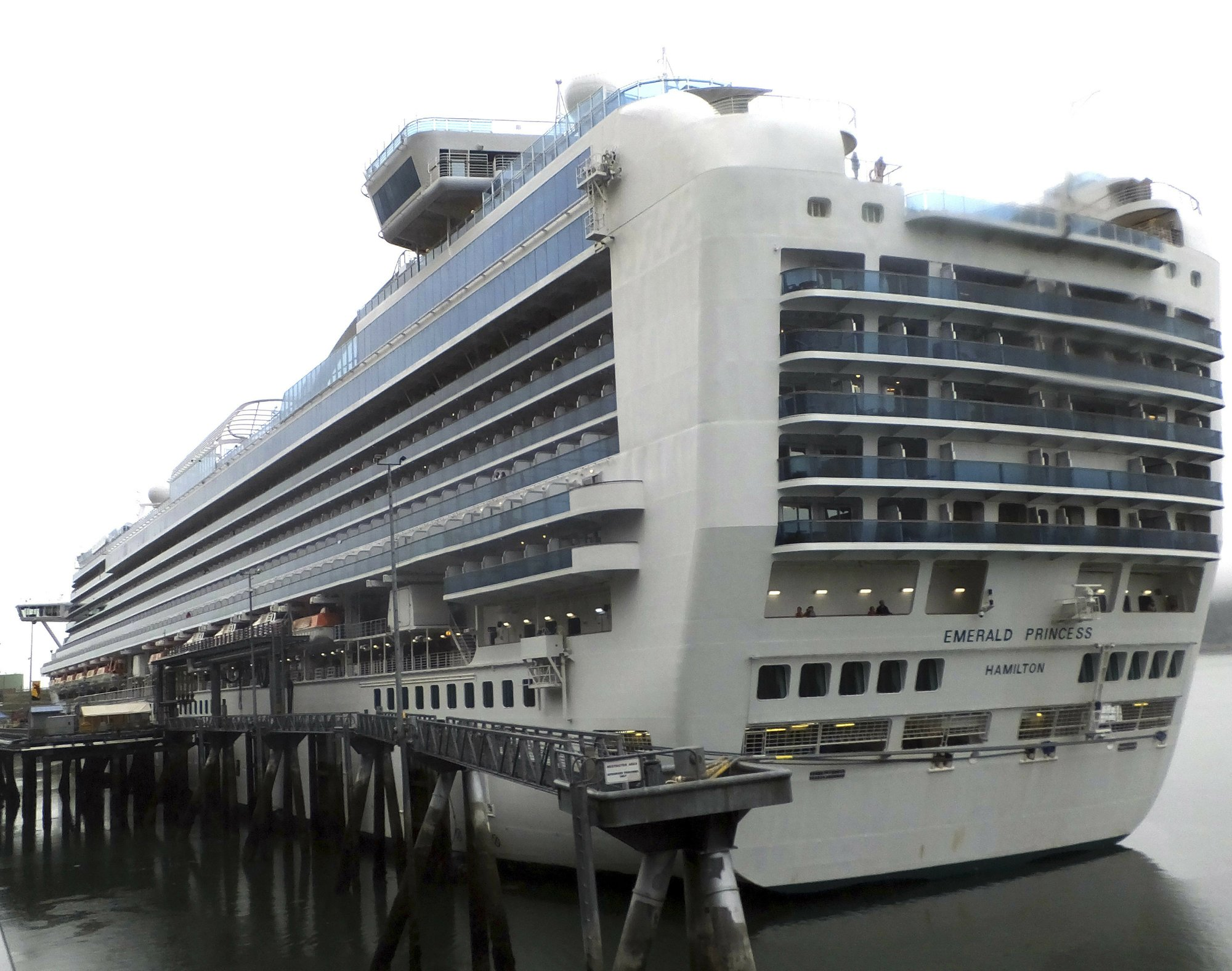 FBI arrests suspect in woman's death on Alaska cruise ship