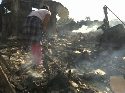 Fire Victim: 'This Is What's Left of Our House'