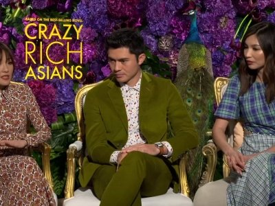 'There was magic in the air' on 'Crazy Rich Asians' set