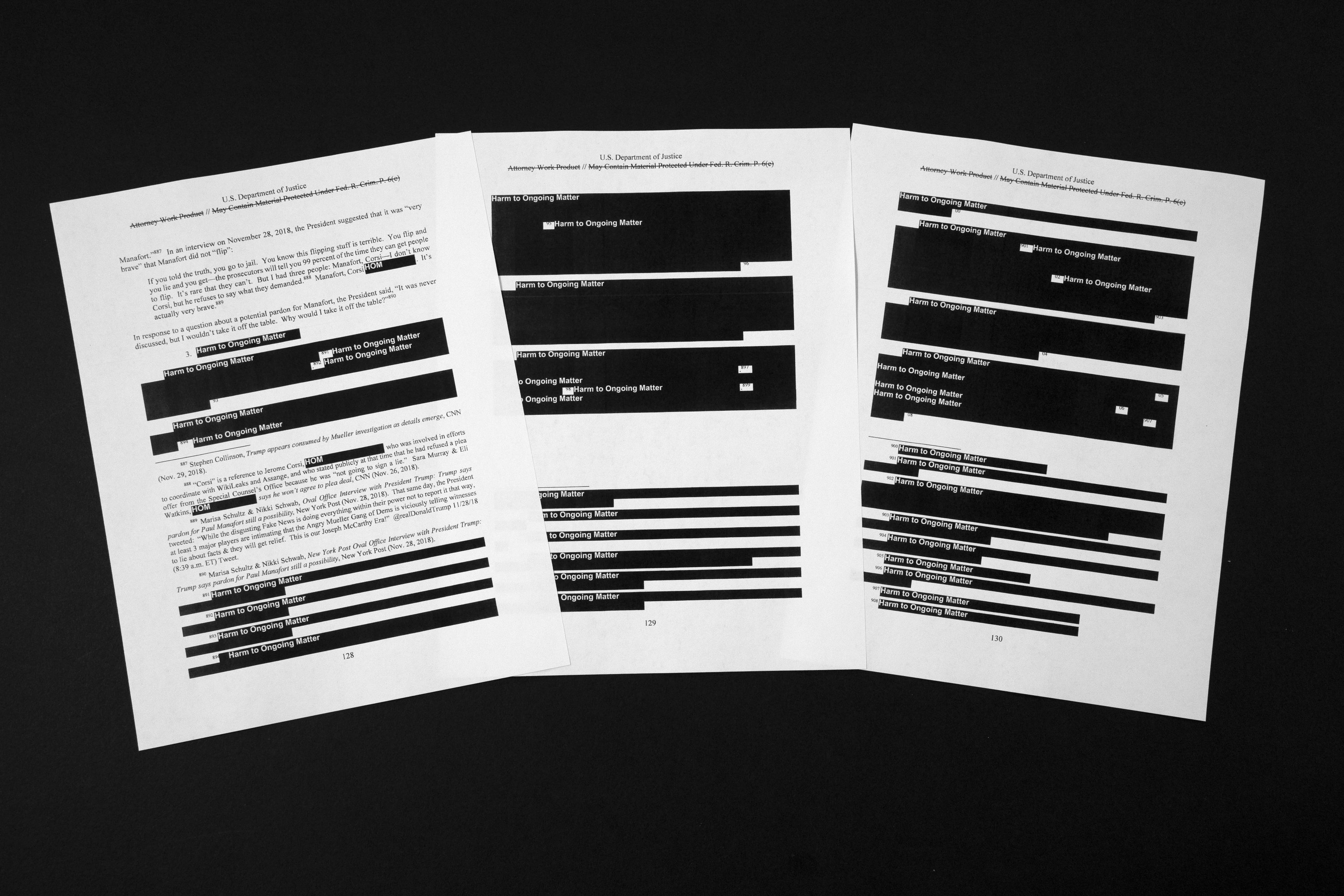 A few things you might have missed from the Mueller report