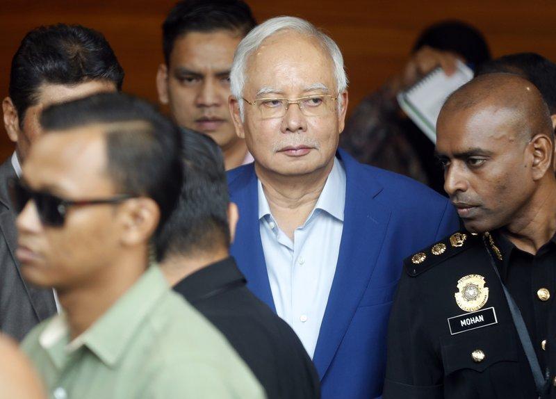 Malaysia anti-graft agency arrests former leader Najib Razak