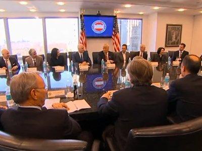 Trump, Tech Leaders Meet at Trump Tower