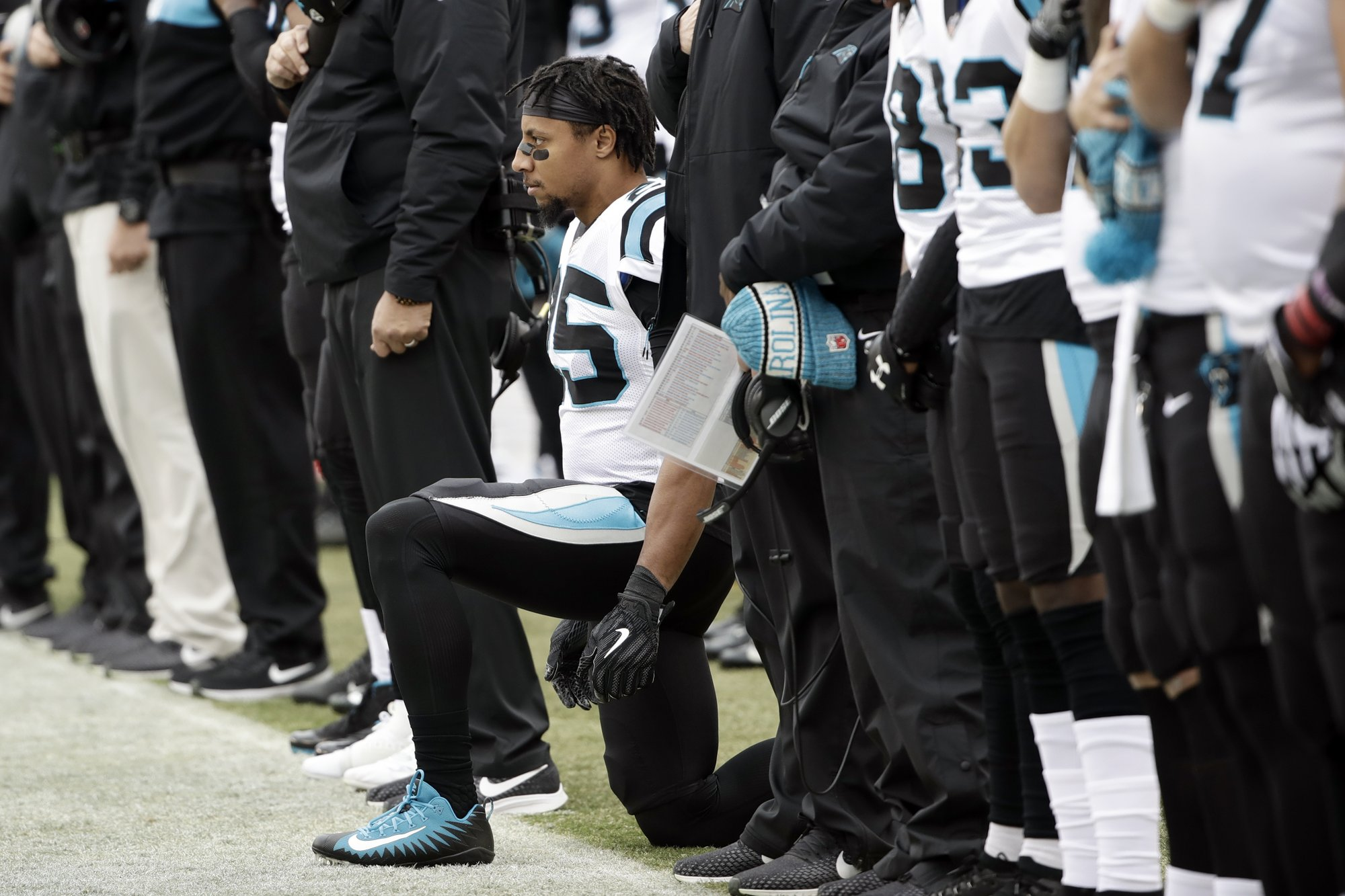 Panthers  Reid calls Jenkins  sellout  in protest movement bf6a8e39f