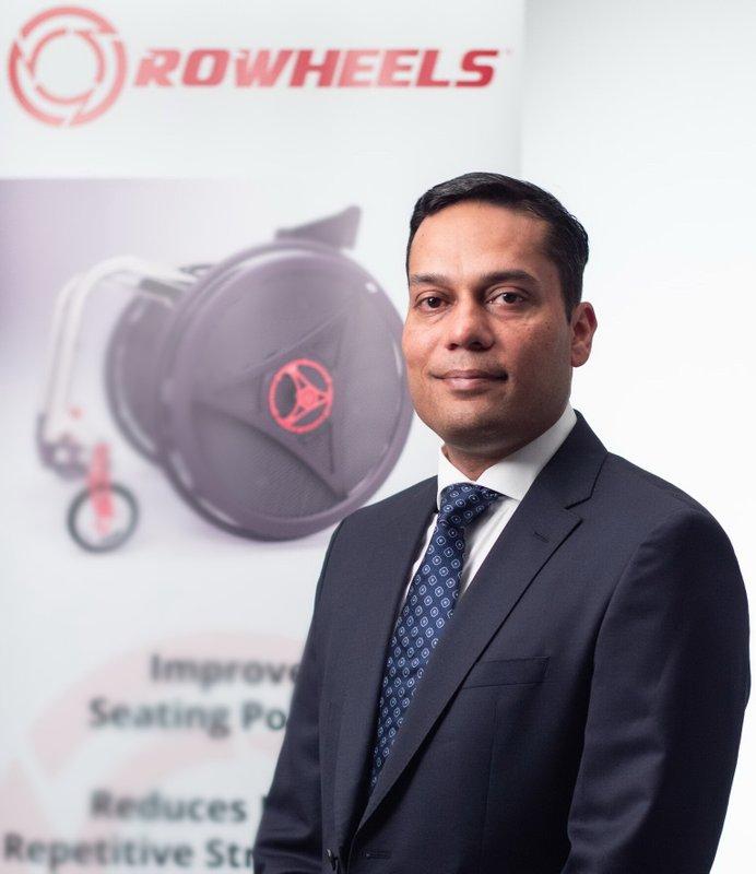 ROWHEELS Introduces Affordable Next-Gen Wheelchair