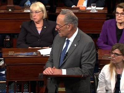 Emotional Senator Schumer 'Inspired' By McCain