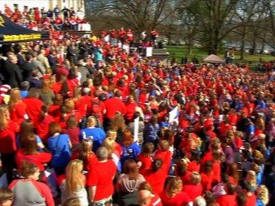 Raw: Day Four of West Virginia Teachers Strike