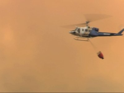 Central Calif. Wildfire Triples in Size