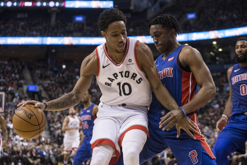 DeMar DeRozan; Stanley Johnson
