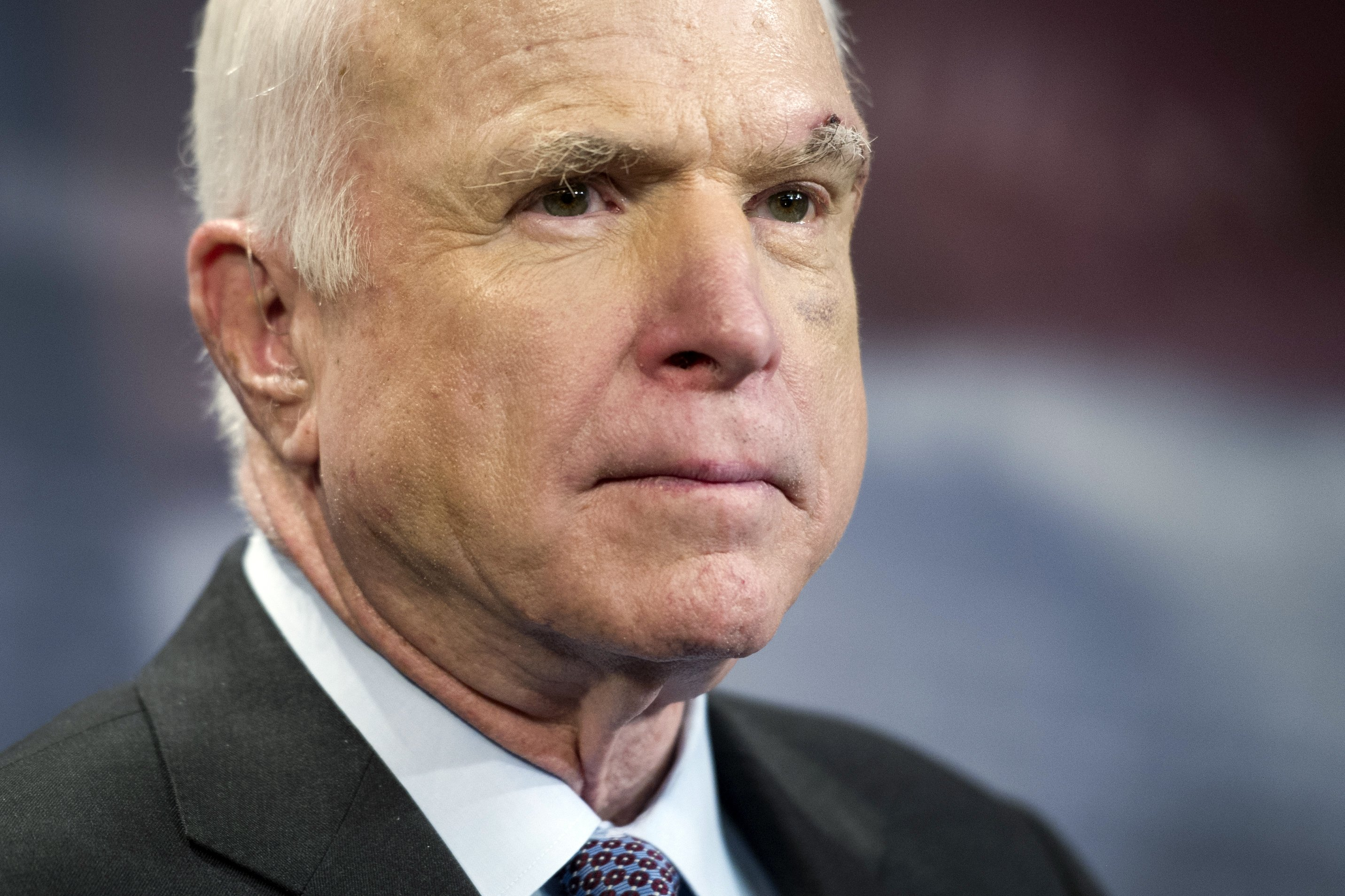 McCain doesn't back GOP health care bill, drawing Trump ire
