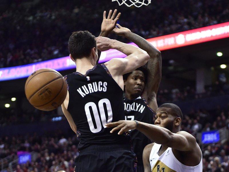 Leonard has 20 points, 11 rebounds, Raptors top Nets 122-105