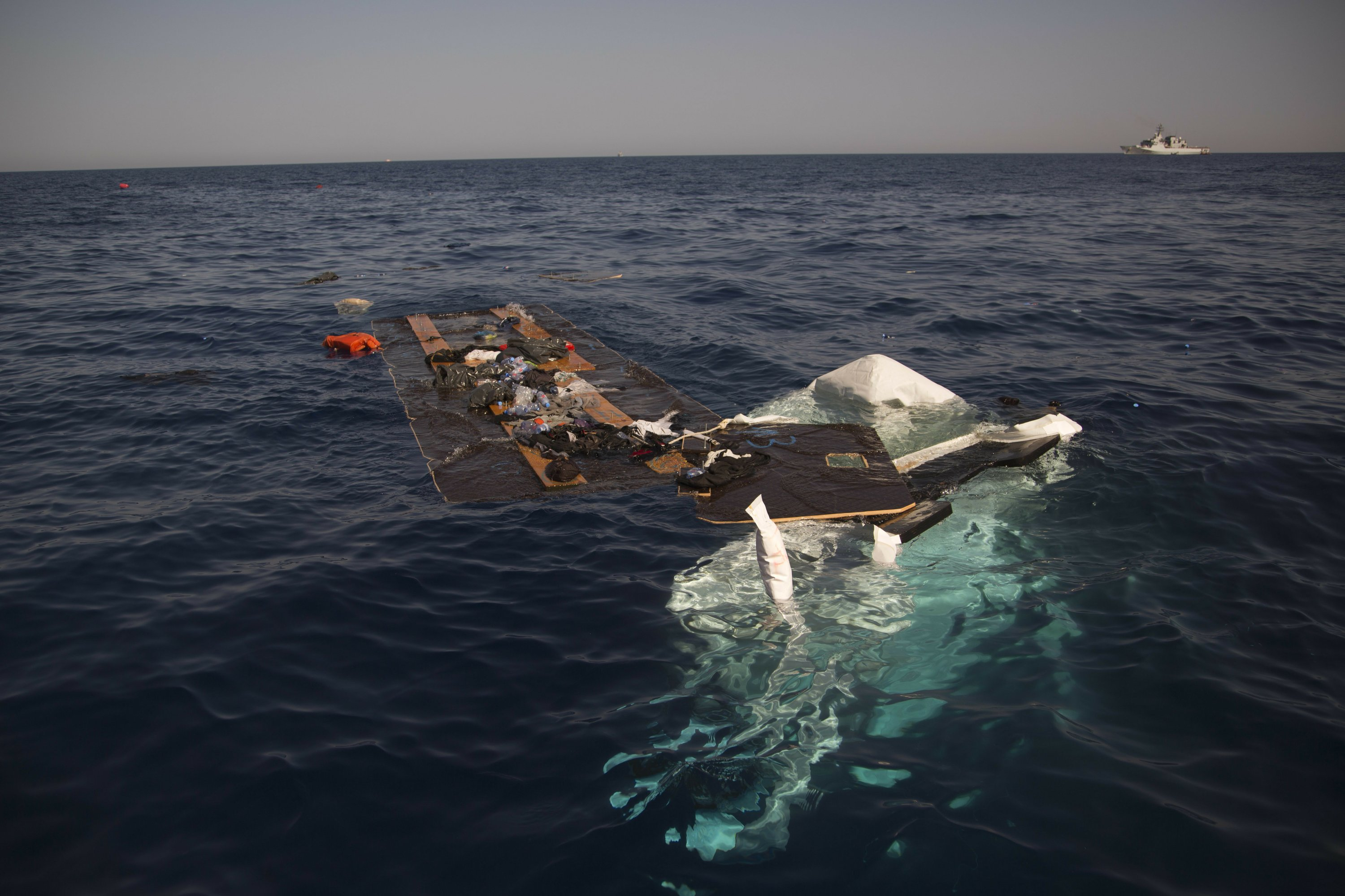 Survivors of Libyan shipwreck report 7 Syrians dead
