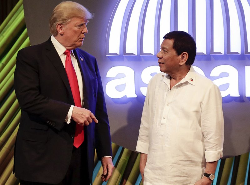 Rodrigo Duterte, Donald Trump