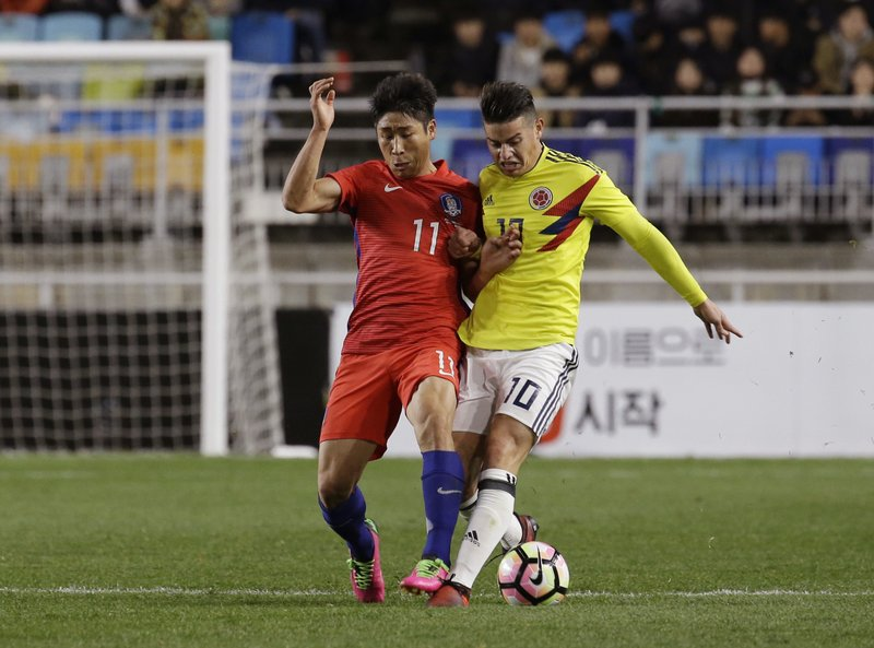 James Rodriguez, Lee Keun-ho