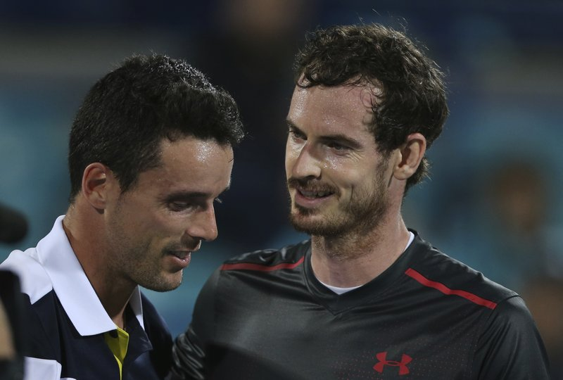 Andy Murray, Roberto Bautista Agut