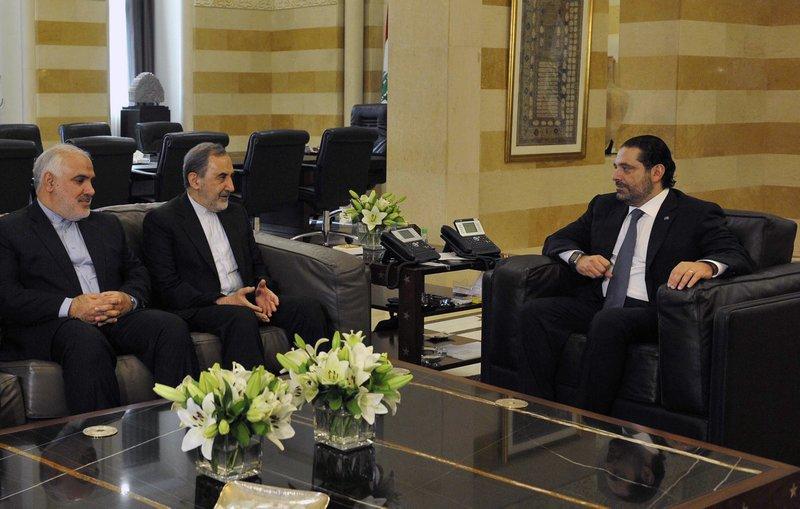 Saad Hariri, Ali Akbar Velayati