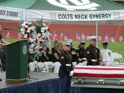 Marine Cpl. Laid To Rest in New Jersey