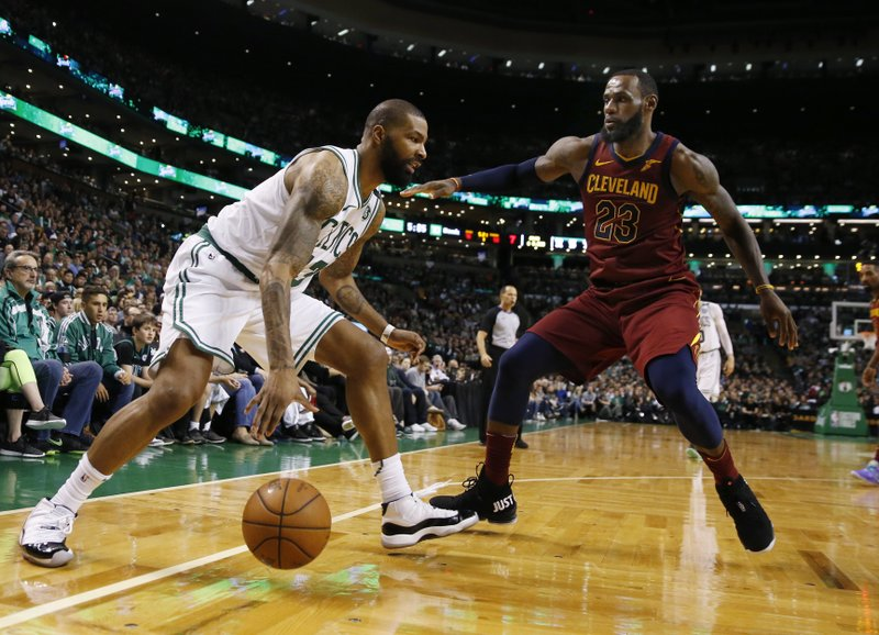 Marcus Morris, LeBron James