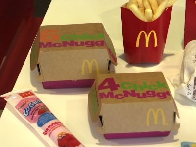Cheeseburgers Leaving McDonald's Happy Meal Menu