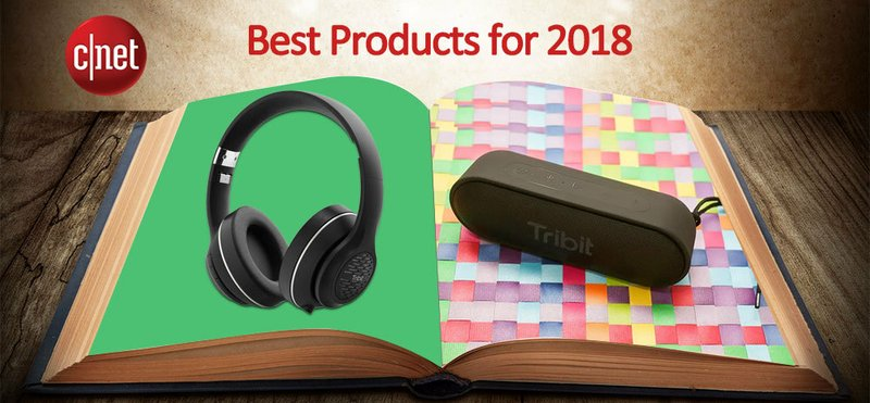 Tribit's Two Bluetooth Products Listed among CNET Best Products of 2018