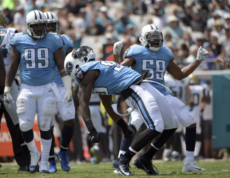 Jurrell Casey, Brian Orakpo, Avery Williamson, Wesley Woodyard