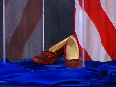 Click your heels, FBI recovers ruby slippers
