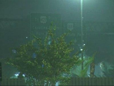 Hurricane Florence slams Carolina coastline