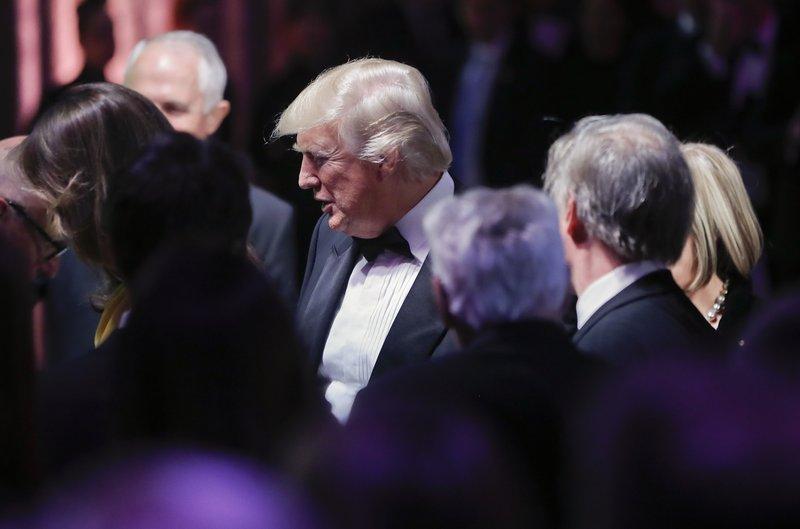 Donald Trump, Malcolm Turnbull, Melania Trump, Lucy Turnbull