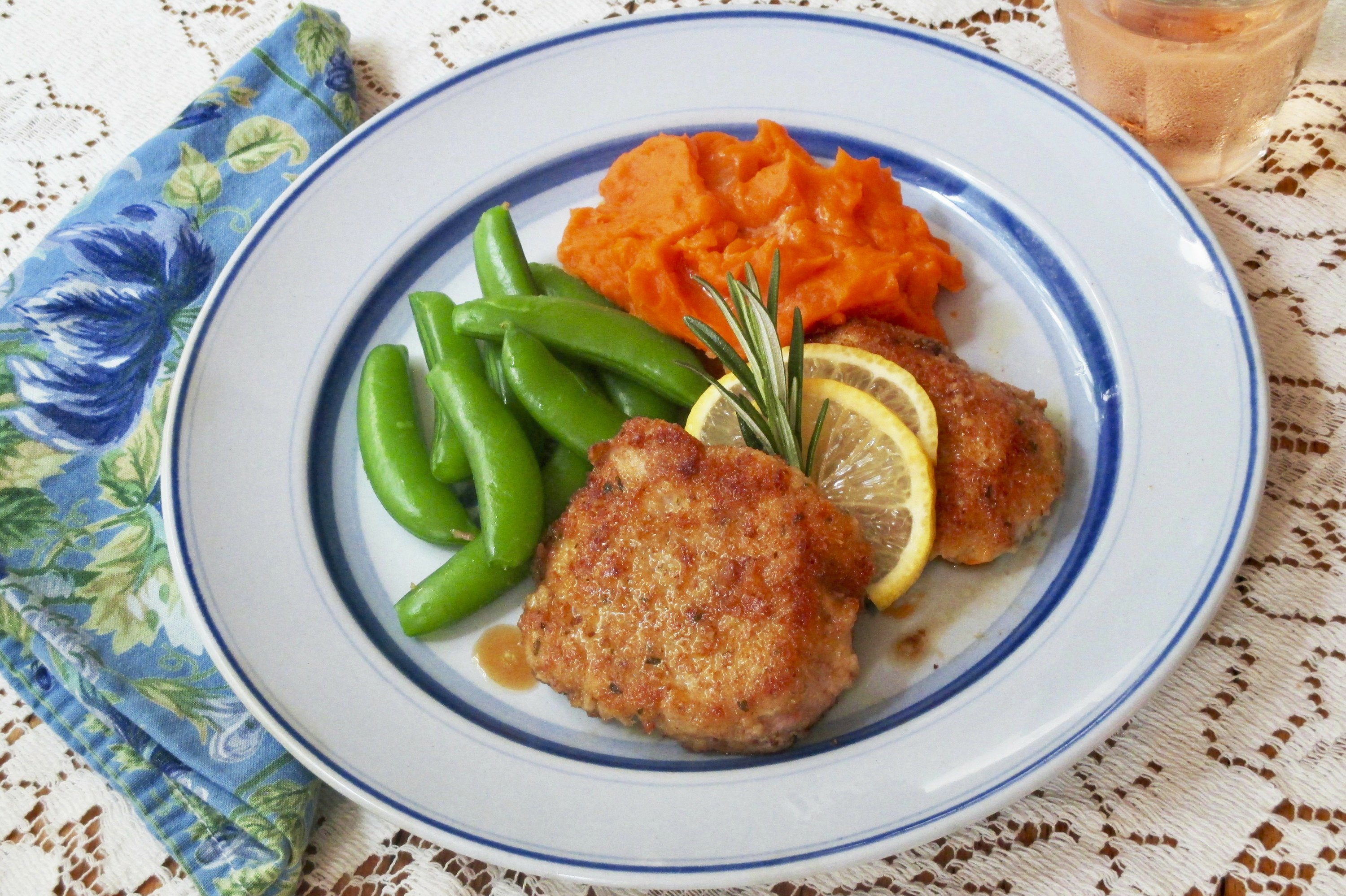 Cheesy Pork Steaks are quick to make _ and delicious to eat