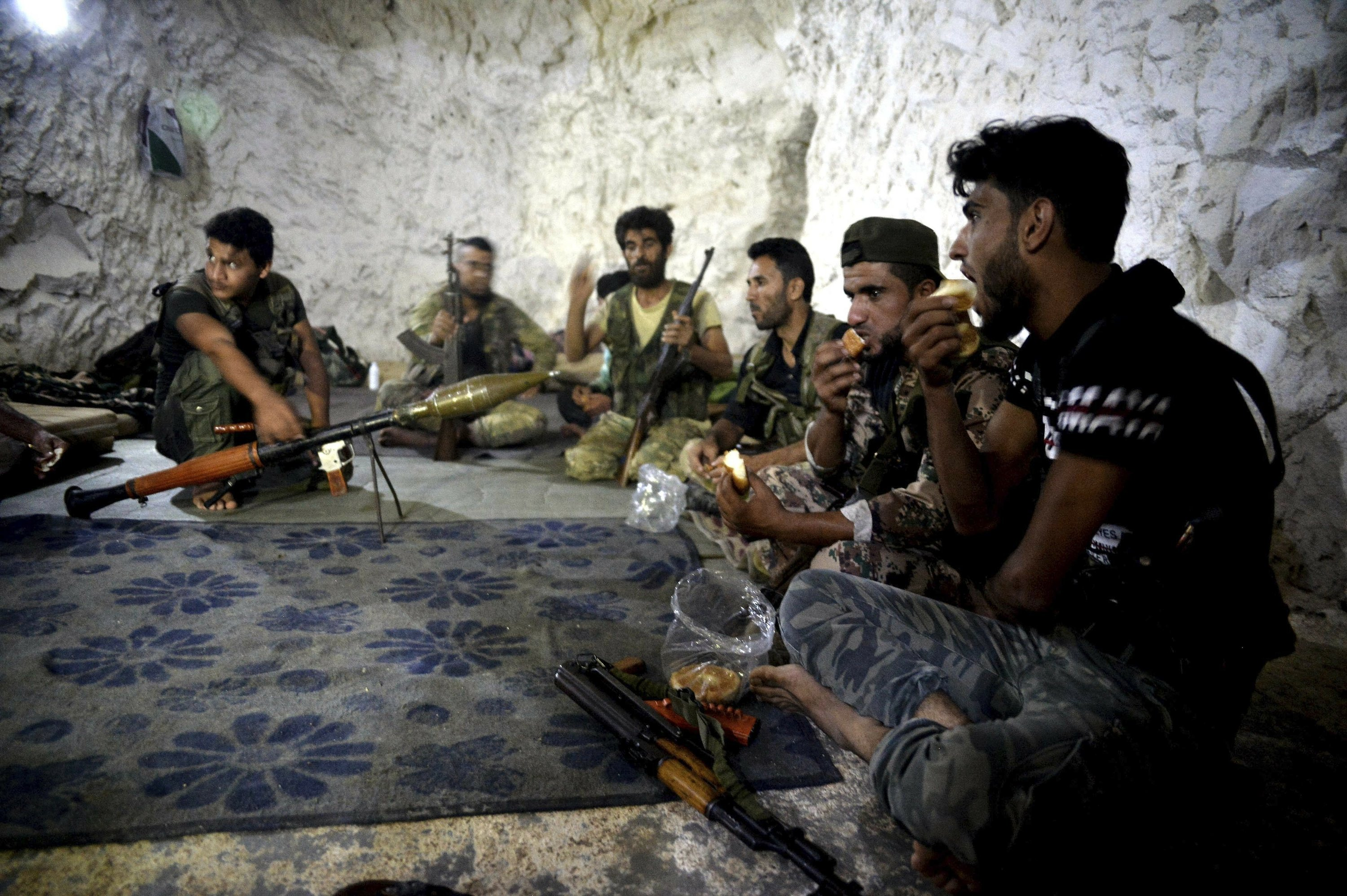 Last stand: Syria's rebel Idlib prepares for a losing battle