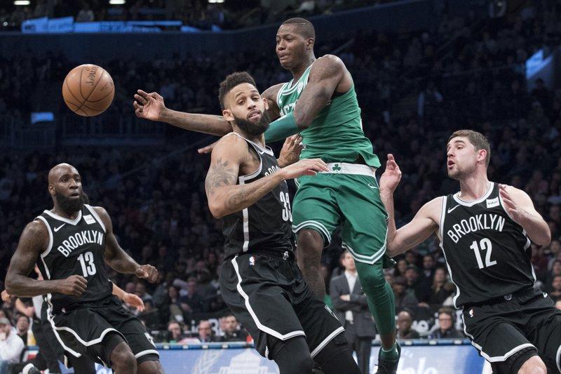 d7bd5930b905 Tatum helps Celtics edge Nets for sixth straight victory