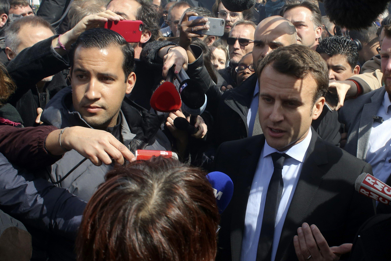 French investigators raid home of Macron's ex-bodyguard